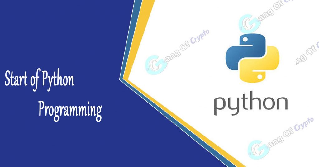 How to start programming in Python