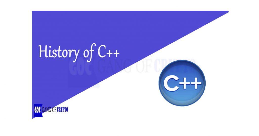 History of C++