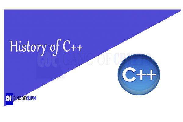 History of C++ - gangofcrypto
