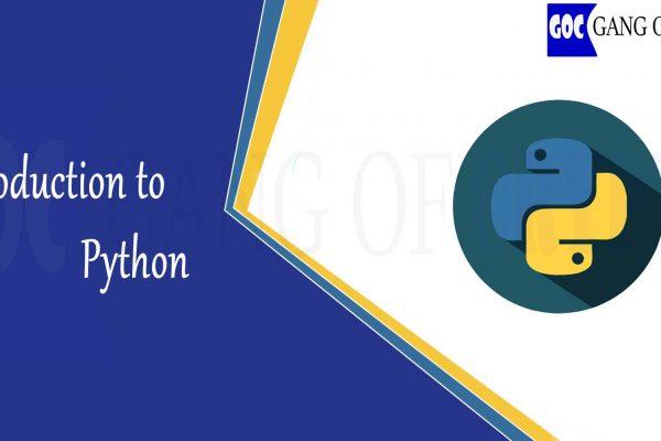 Introduction to python-Gangofcrypto
