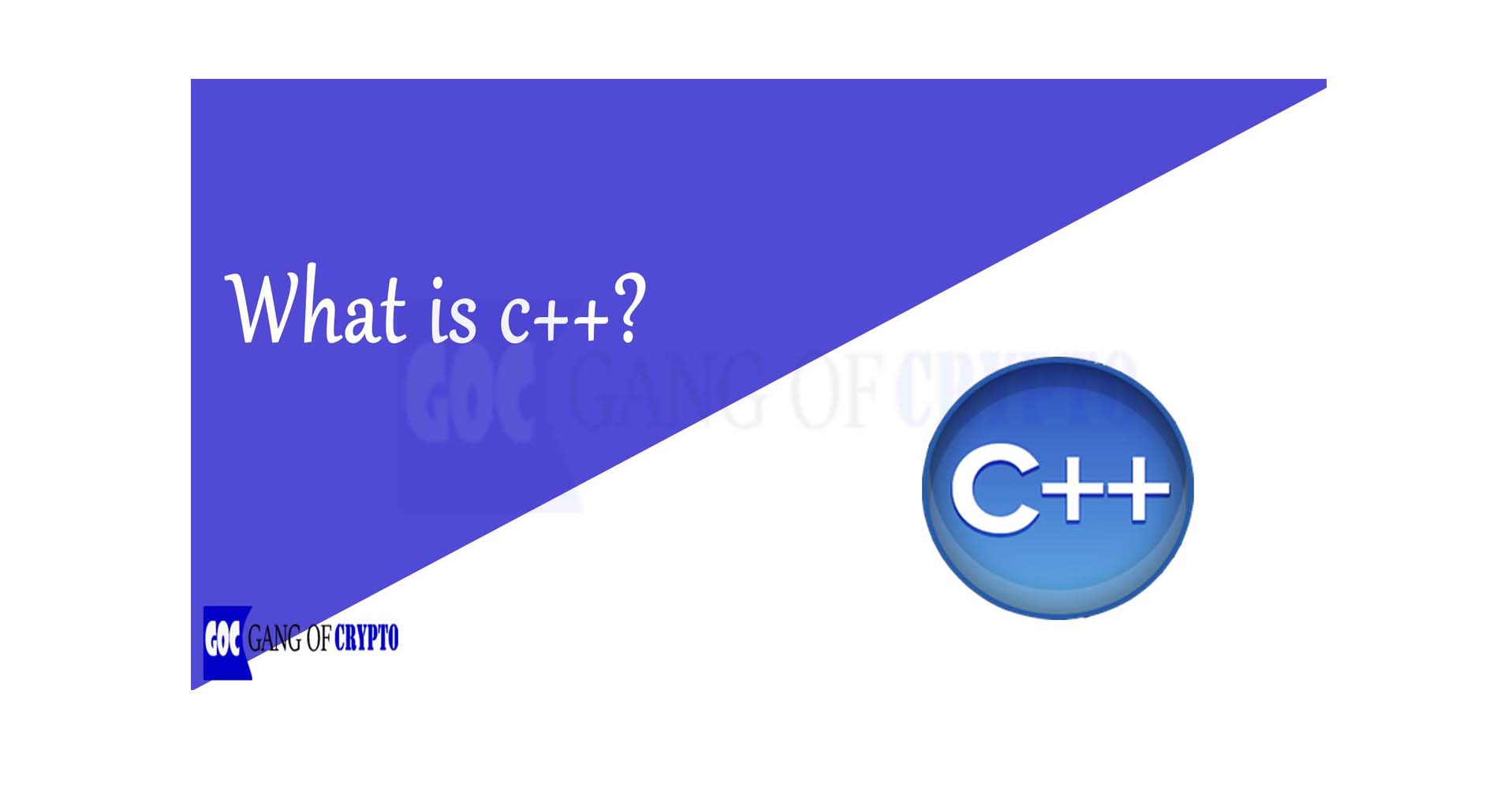 What is C++ Programming Language