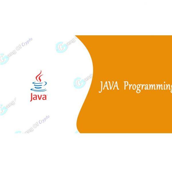 Java-Programming Gang of Crypto